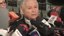 Kaczyński o zawieszeniu protestu i karach dla opozycji (TV Interia)