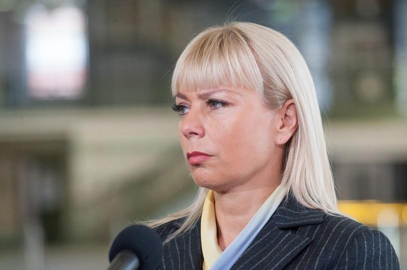 """Kaczyński ocenił w poniedziałek, że minister rozwoju regionalnego Elżbieta Bieńkowska przyszła do rządu """"na gotowe"""". /ANDRZEJ ZBRANIECKI /East News"""