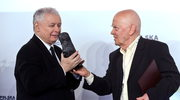 Kaczyński wręczył Rymkiewiczowi nagrodę im. L. Kaczyńskiego