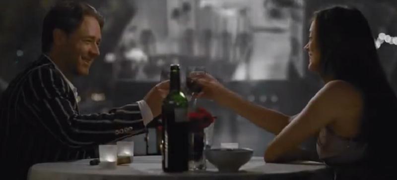 "Kadr z filmu ""Dobry rok"" /je dors sur des roses /YouTube"
