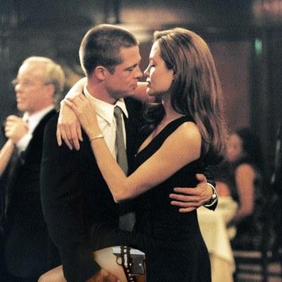 """Kadr z filmu """"Mr & Mrs Smith"""" /AFP"""