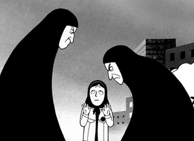 "Kadr z filmu ""Persepolis"" /AFP"
