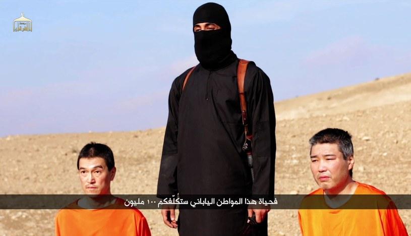 Kadr z nagrania opublikowanego przez IS /AFP