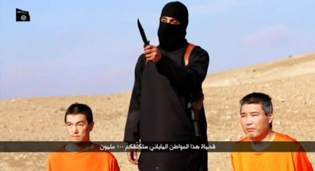 Kadr z nagrania z zakładnikami /YouTube