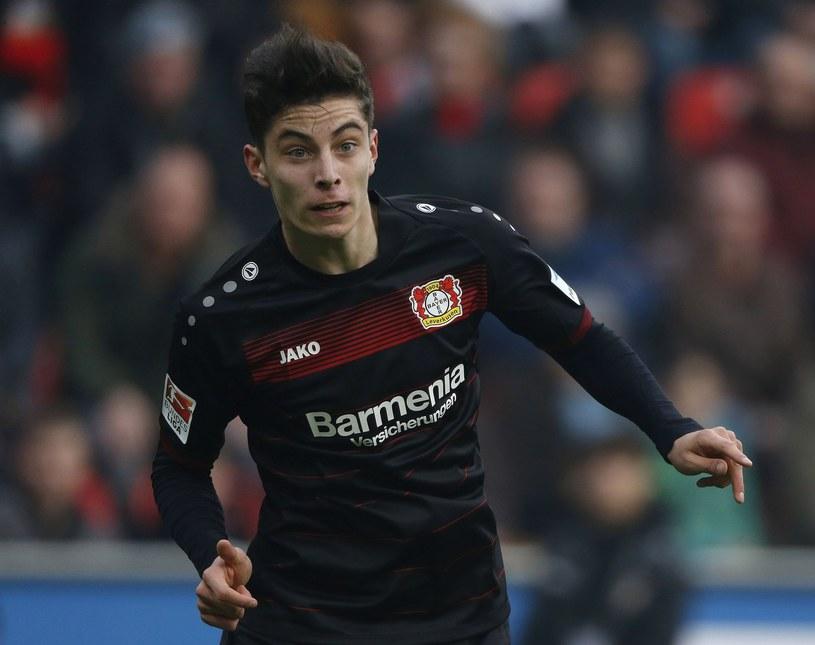 Kai Havertz, piłkarz Bayeru Leverkusen /Norbert Schmidt /East News