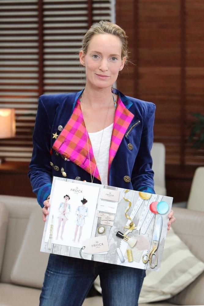 Kaja jest dumna ze swojej kolekcji fraków /Jan Kucharzyk /East News