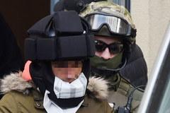 Kajetan P. przewożony do warszawskiej prokuratury