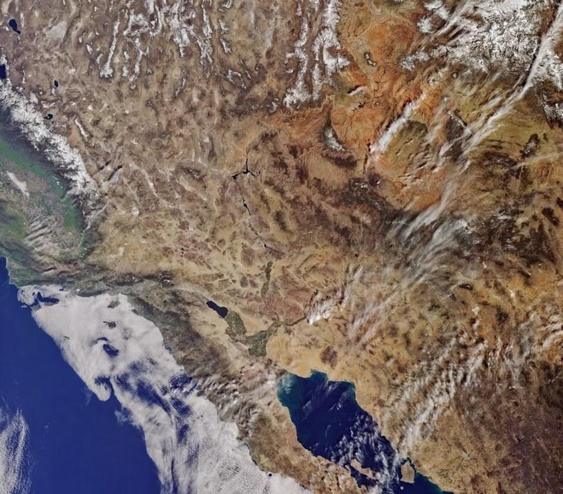 Kalifornia okiem Sentinela-3A (29.02.2016) /materiały prasowe