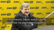 Kalinowski: Intencja była dobra, ale finał dramatyczny