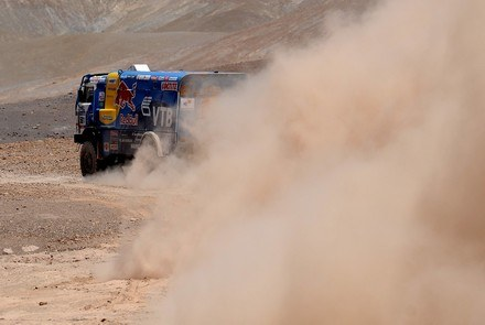Kamaz na Dakarze /AFP