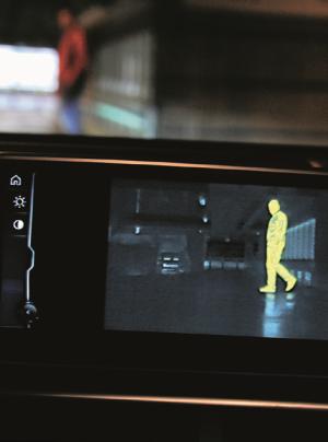 kamera na podczerwień /Motor