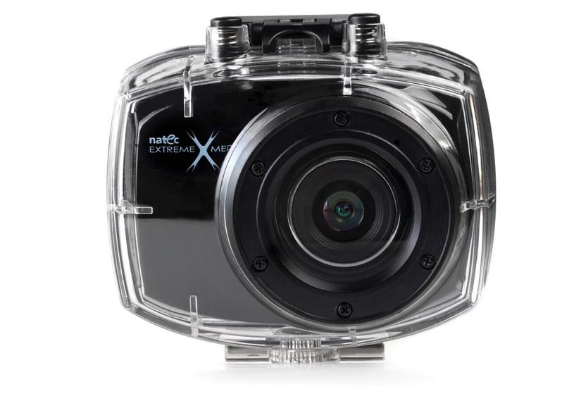 Kamera Natec SPORT CAM HD50 z obudową podwodną /materiały prasowe