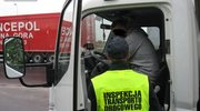 Kamikadze w ciężarówce. Prowadził przez 40 godzin!