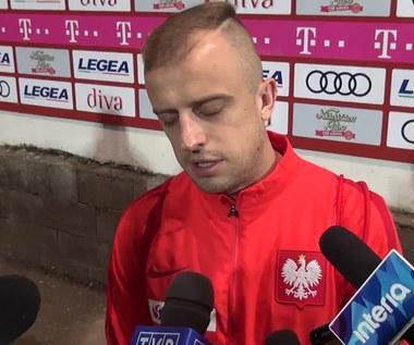 Kamil Grosicki po zwycięstwie z Czarnogórą 2-1. Wideo