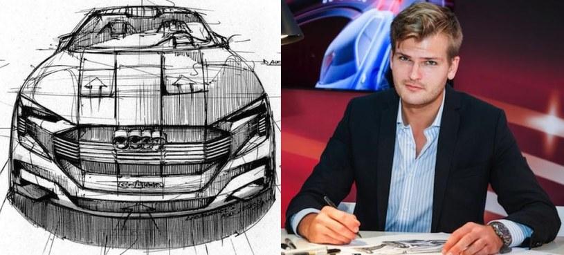 Kamil Łabanowicz i jego projekt Audi e-tron quattro /