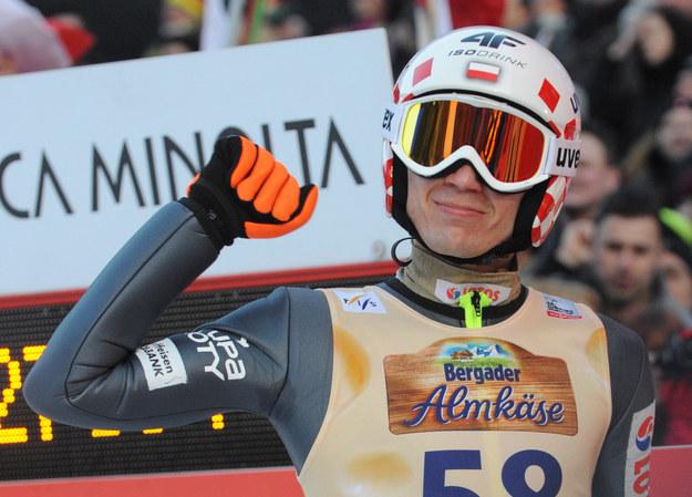 Kamil Stoch jest w znakomitej formie. Czy potwierdzi ją w Soczi? /AFP