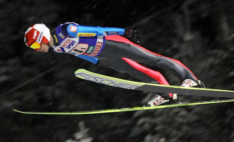 Kamil Stoch nie może odnaleźć formy /Grzegorz Momot /PAP