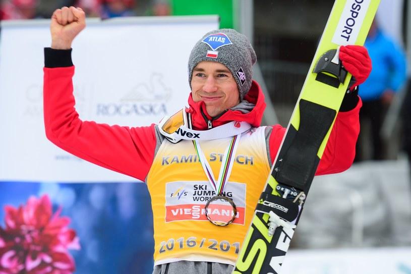 Kamil Stoch w Planicy /AFP