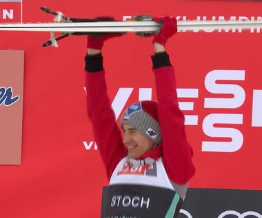 Kamil Stoch wygrał w Vikersund. Wideo