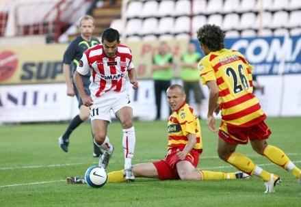 Kamil Witkowski w akcji, fot: Tomasz Markowski /Agencja Przegląd Sportowy