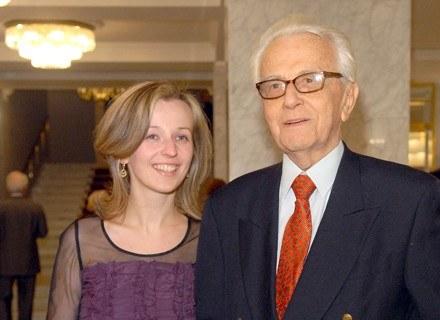 Kamila Mścichowska i Andrzej Łapicki  fot. Marek Ulatowski /MWMedia