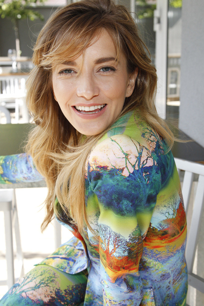 Kamilla Baar została pierwszą polską ambasadorką marki odzieżowej Marc Cain /Podsiebierska /AKPA