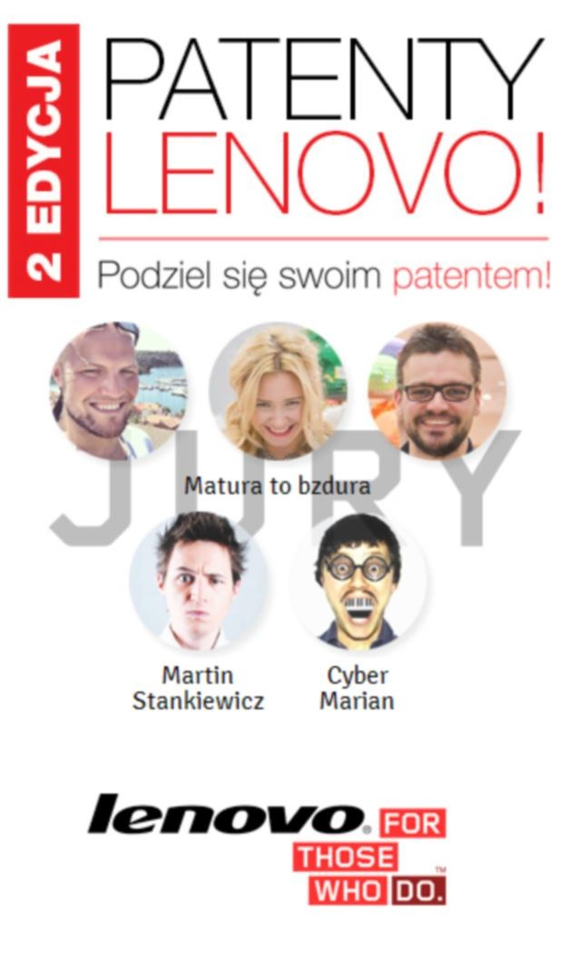 "Kampania ""3 patenty z Lenovo"" /materiały prasowe"