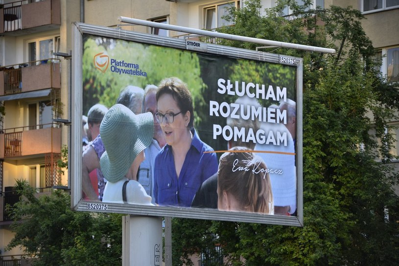 Kampania Ewy Kopacz przynosi efekty? /Włodzimierz Wasyluk /East News