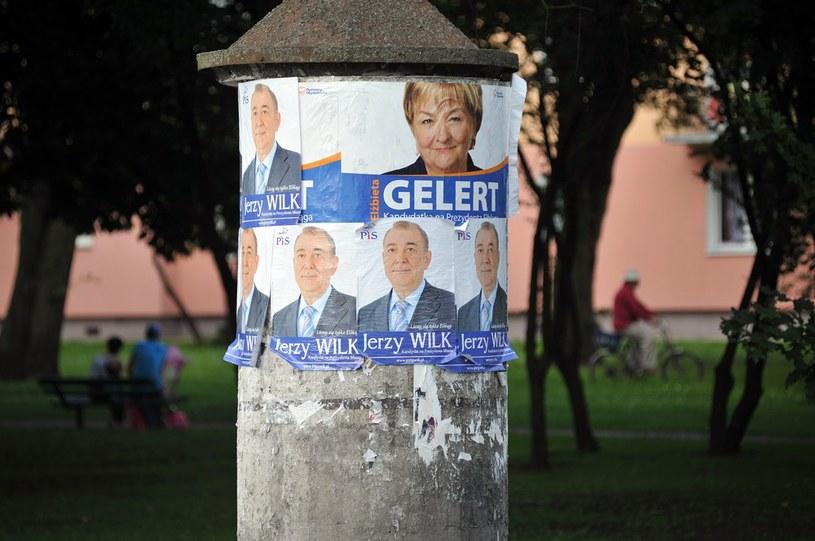 Kampania wyborcza przed drugą tura wyborów w Elblągu /Wojciech Stróżyk /Reporter