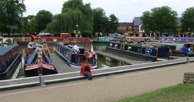 Kanal, rower, barka.