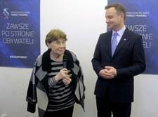 Kancelarii Prezydenta krytykuje doradczynię Andrzeja Dudy