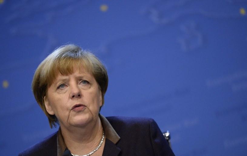 Kanclerz Angela Merkel włączyła się w debatę /AFP