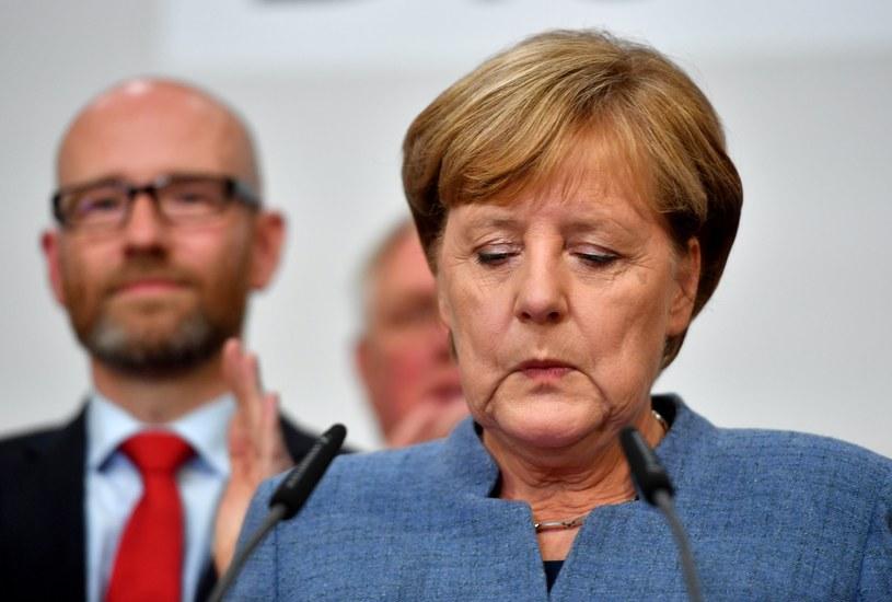 Kanclerz Angela Merkel /OLIVER LANG  /PAP/EPA