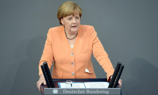 Kanclerz Niemiec Angela Merkel /PAP/EPA/RAINER JENSEN /PAP/EPA