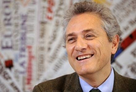 Kandydat centrolewicy na burmistrza Rzymu - Francesco Rutelli /AFP