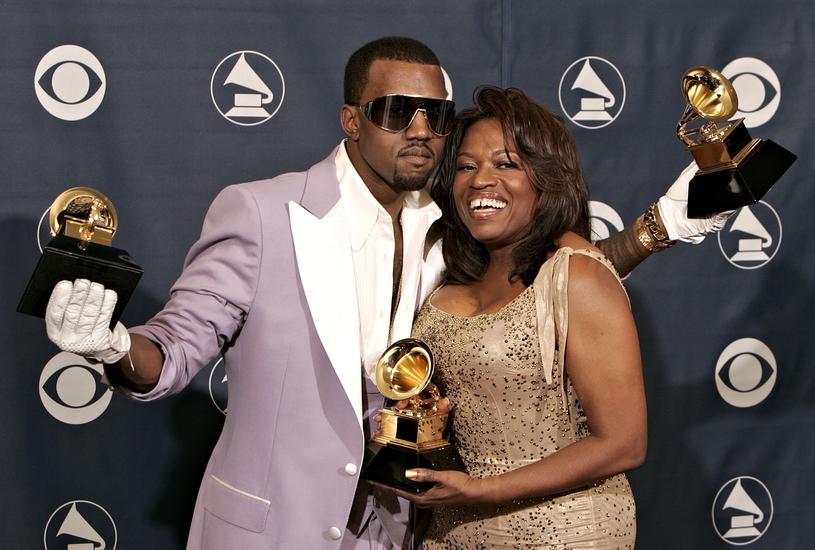 Kanye West i Donda West /Kevin Winter /Getty Images