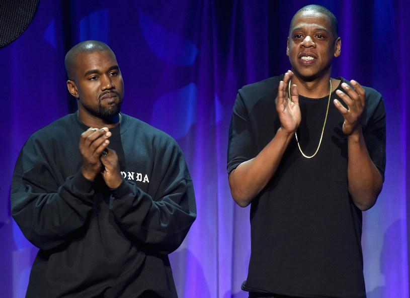 Kanye West i Jay Z /Getty Images