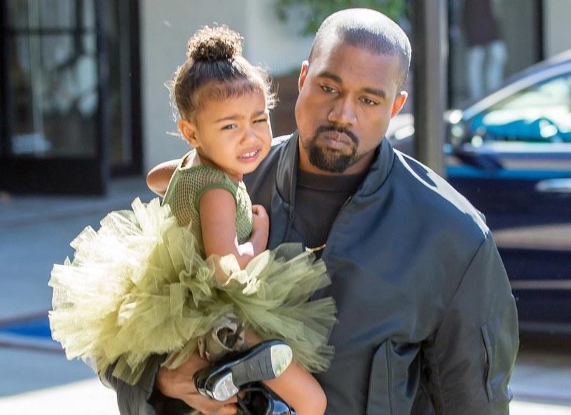 Kanye West i North West /VIPix / Splash News /East News