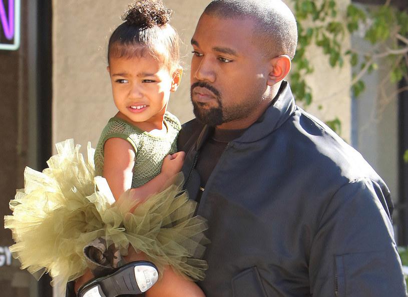 Kanye West z córką /DRILA/Broadimage /East News