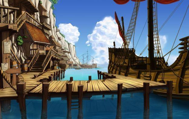 Kapitan Morgane i Legenda Złotego Żółwia - motyw graficzny /Informacja prasowa