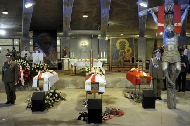 Kapłani zginęli w katastrofie prezydenckiego samolotu pod Smoleńskiem/fot.Maciej Biedrzycki /Agencja FORUM