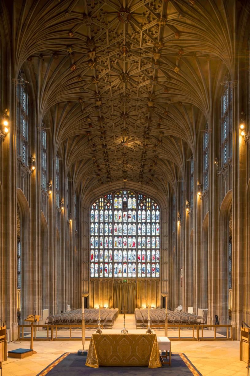 Kaplica Świętego Jerzego na zamku Windsor /Getty Images