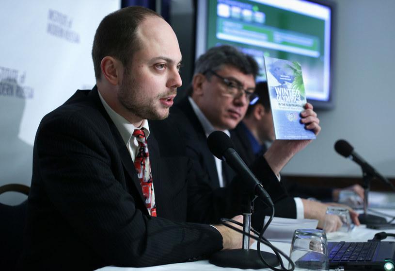 Kara-Murza był przyjacielem i doradcą zamordowanego Borisa Niemcowa /AFP