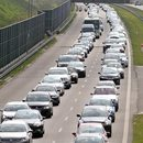 Karambol na autostradzie A4 w kierunku Tarnowa