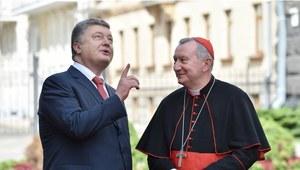 Kard. Parolin na Ukrainie: Nie oczekiwałem, że ujrzę tu tyle cierpienia