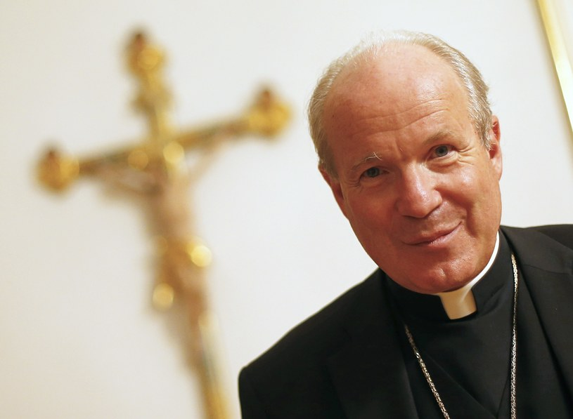 Kardynał Christoph Schoenborn /AFP