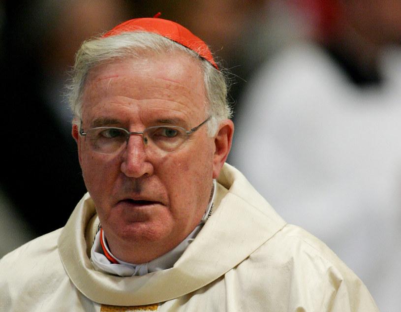 Kardynał Murphy-O'Connor /THOMAS COEX / AFP /AFP