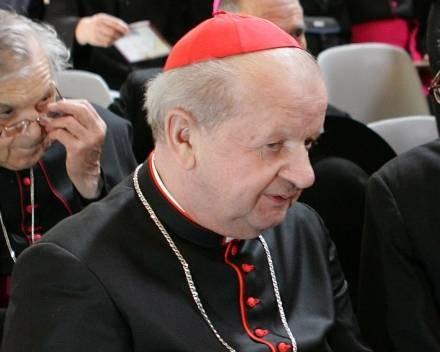 Kardynał został wyróżniony /AFP