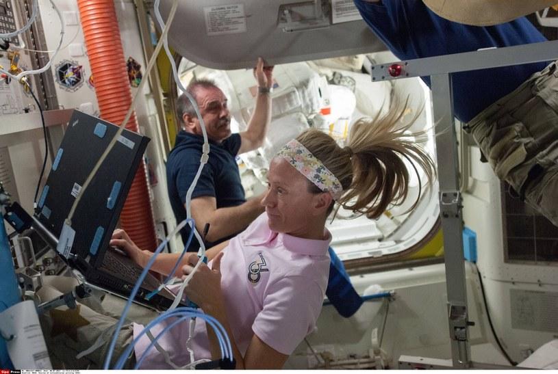 "Karen L. Nyberg - ""kosmiczna"" mama /NASA/SIPA /East News"