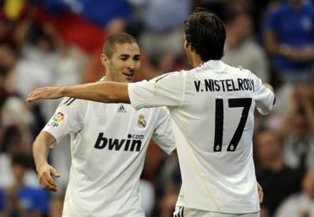 Karim Benzema i Ruud van Nistelrooy /AFP